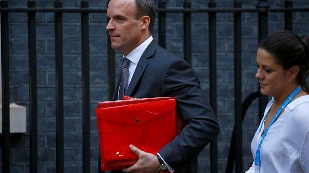 No-Deal-Szenario: Brexit-Minister Raab stellt zu erwartende Folgen vor