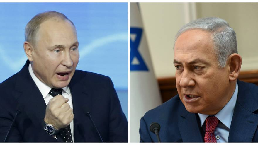نتنياهو أطلع بوتين على عملية استهداف الأنفاق على حدود لبنان