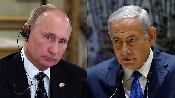 Lübnan sınırındaki operasyonlarla ilgili Netanyahu'dan Putin'e bilgilendirme
