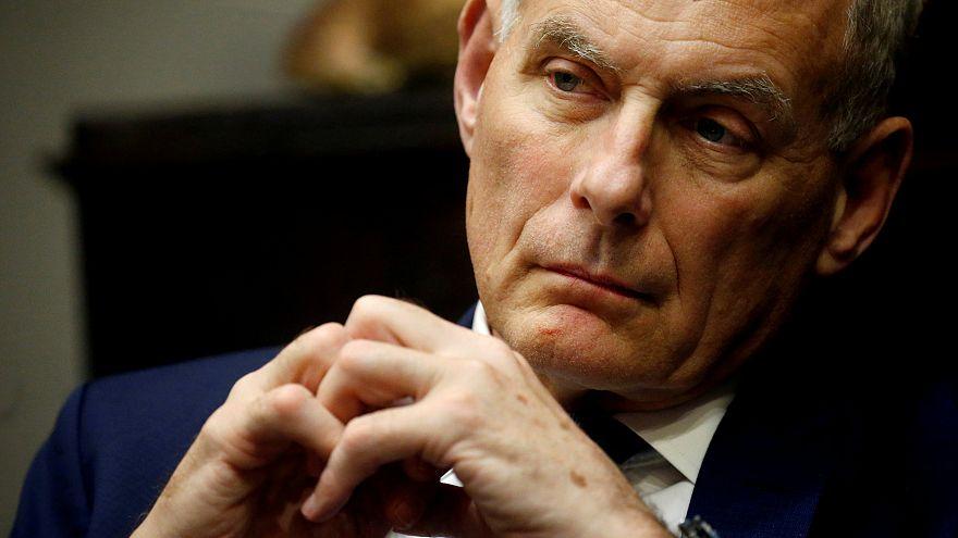 Trump'ın özel kalem müdürü John Kelly görevi bırakıyor