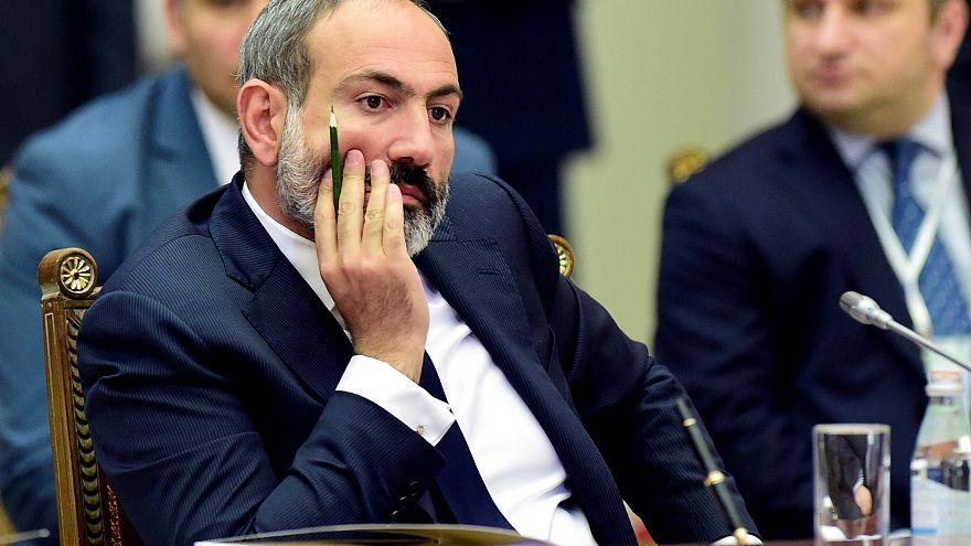Armenia's acting Prime Minister Pashinyan