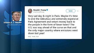 Gilets jaunes : Donald Trump s'en prend encore à l'accord de Paris sur le climat