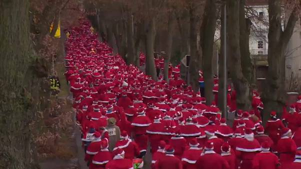 Mehr als 1.000 beim Nikolauslauf - in Michendorf