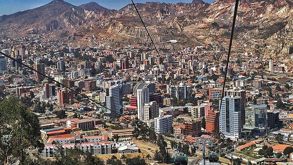 Bolivia'nın başkenti La Paz