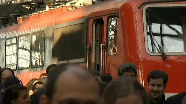 Grève de trains en Allemagne à l'approche de Noël