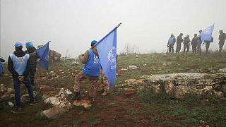 قوات حفظ السلام تُسّير دوريات على الحدود اللبنانية الإسرائيلية