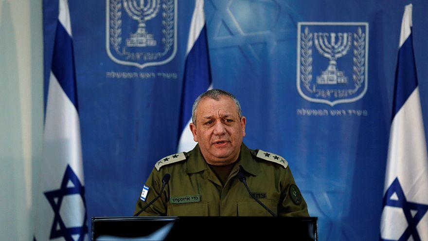Israeli Chief of Staff Lieutenant-General Gadi Eizenkot