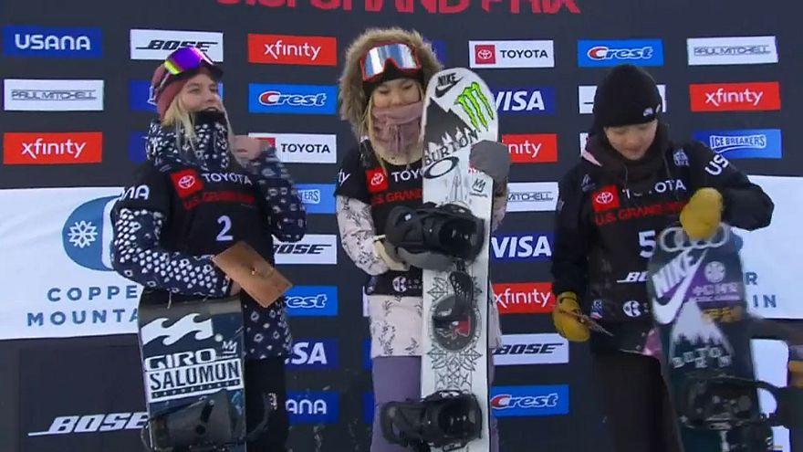 Snowboard: in Coppa del Mondo vincono Chloe Kim e Scotty James