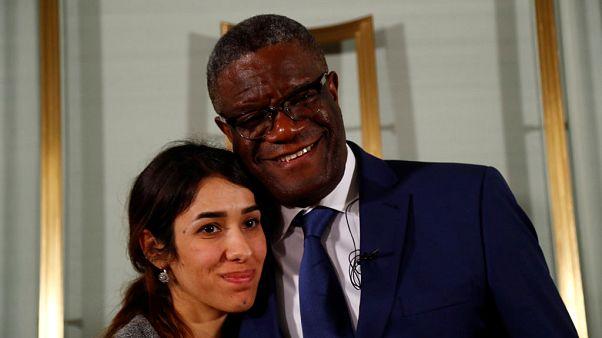 الفائزان بجائزة نوبل للسلام يطالبان بالعدالة لضحايا الاغتصاب أثناء الحروب