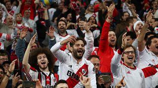 شاهد: جماهير ريفر بليت الأرجنتيني تشعل مدريد احتفالاً بالفوز على بوكا جونيورز