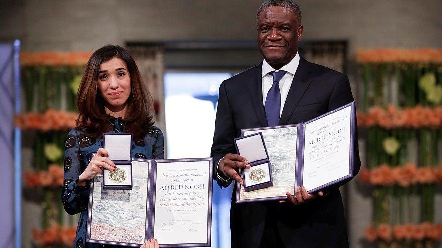 Les Nobel de la paix s'insurgent contre les violences sexuelles
