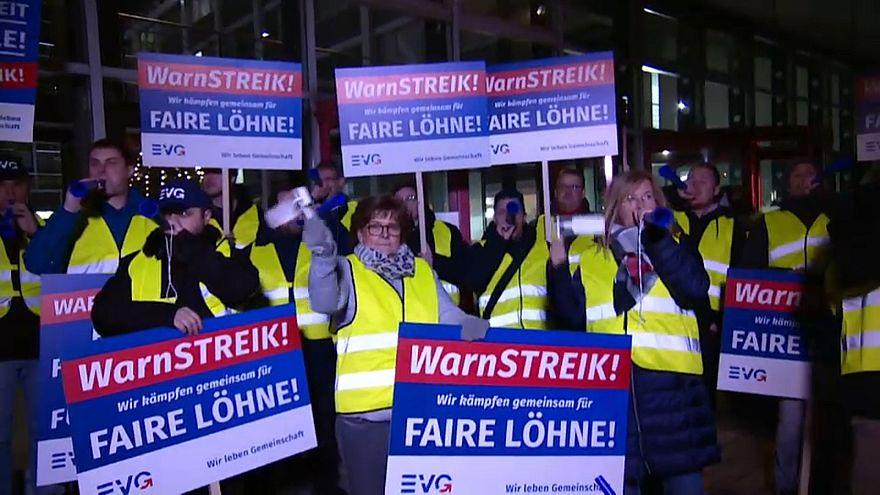 Una huelga causa importantes disrupciones en el tráfico ferroviario alemán