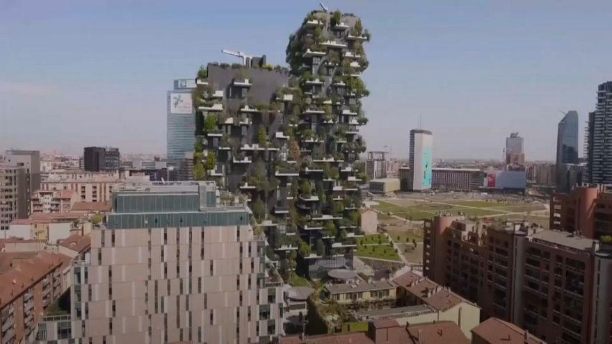 Milan building towards a brighter, greener future