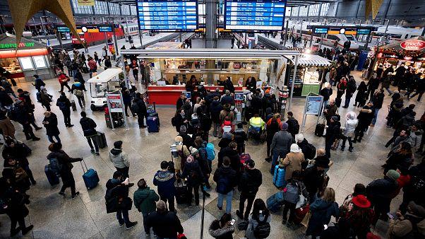 Σιδηροδρομικό χάος στη Γερμανία
