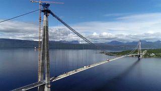 Norvegia: inaugurato il più lungo ponte sospeso del Circolo Polare Artico
