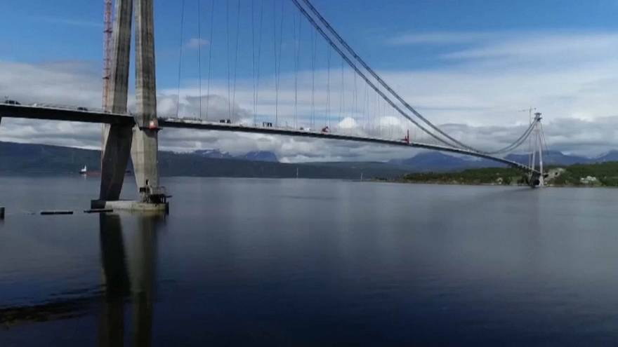 Norway opens Chinese-built bridge in Arctic Circle