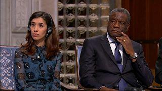 شاهد: حفل توزيع جوائز نوبل