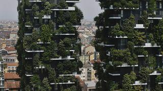 """فيديو: """"الغابات العمودية"""".. سبيل ميلانو للقضاء على التلوث"""