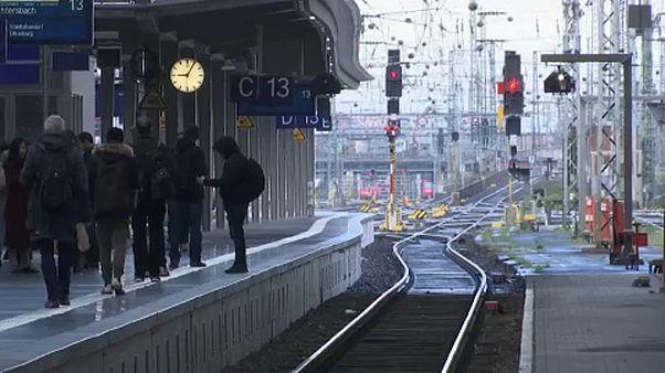 Los sindicatos alemanes del tren retoman el martes la negociación