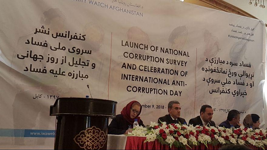 بدبینی شدید مردم افغانستان به نقش جامعه جهانی در مبارزه با فساد