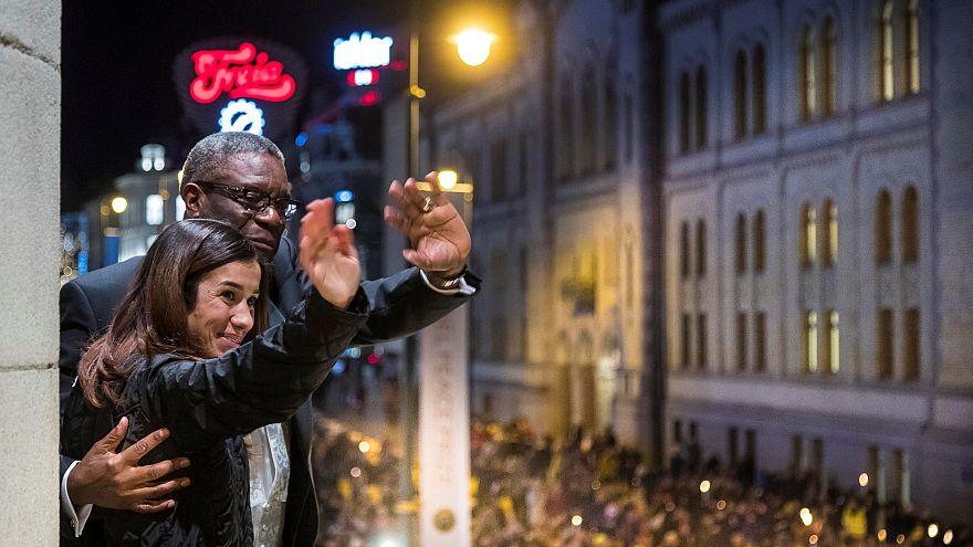 Cerimónia de entrega do Nobel da Paz