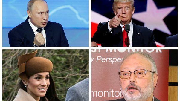 "Путин, Трамп, Маркл и Хашогджи - претенденты на звание ""Человек года"""