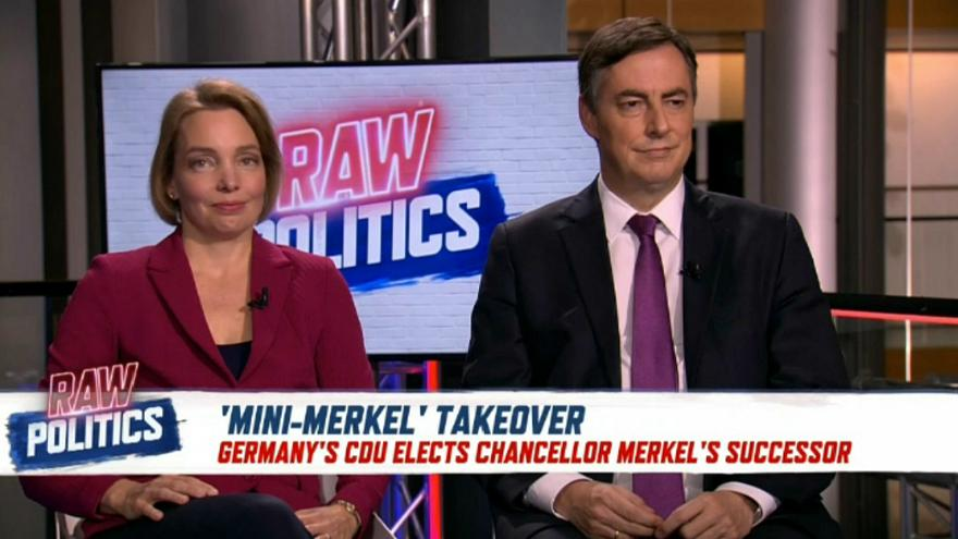 Raw Politics: Is Annegret Kramp-Karrenbauer Angela Merkel 2.0?