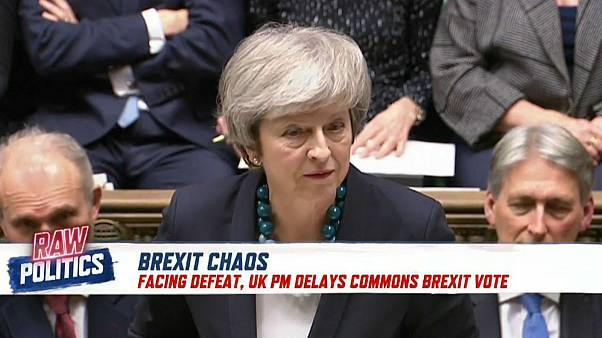 Raw Politics: Brexit chaos, Macron's address, Germany's 'mini Merkel'
