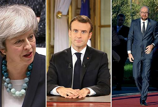 Live updates: Brexit vote cancelled, Macron concessions, UN migration conference