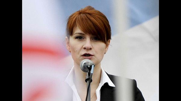 Spionin aus Russland, die die Waffen liebt: Maria Butina (30) will gestehen