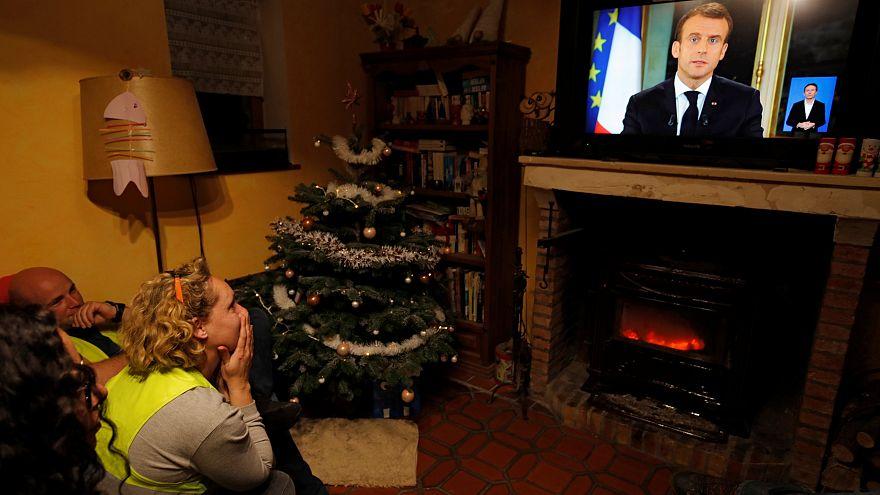 """""""Mea Culpa"""" de Macron não convence """"coletes amarelos"""""""