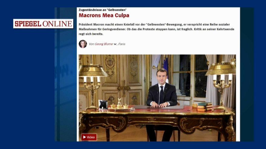Le discours de Macron vu d'Europe : revue de presse