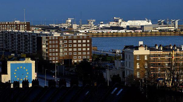 Le port de Douvres est l'un des portes d'entrée commerciales au Royaume-Uni