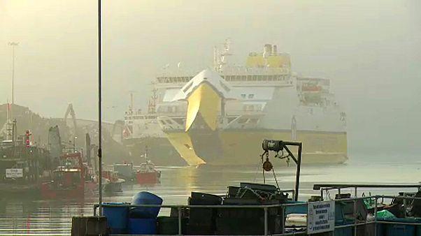Káosztól tart Anglia európai kapuja, Kent