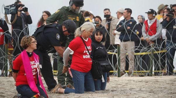 Grenze zu Mexiko: US-Behörden nehmen 30 Demonstranten fest