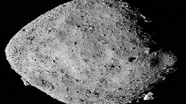 شاهد: مسبار لناسا يجمع أدلة على وجود مياه على كويكب بينو القريب