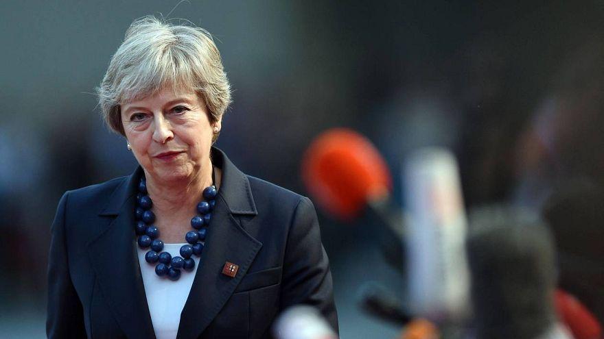 Brüsszelbe érkezett a brit kormányfő