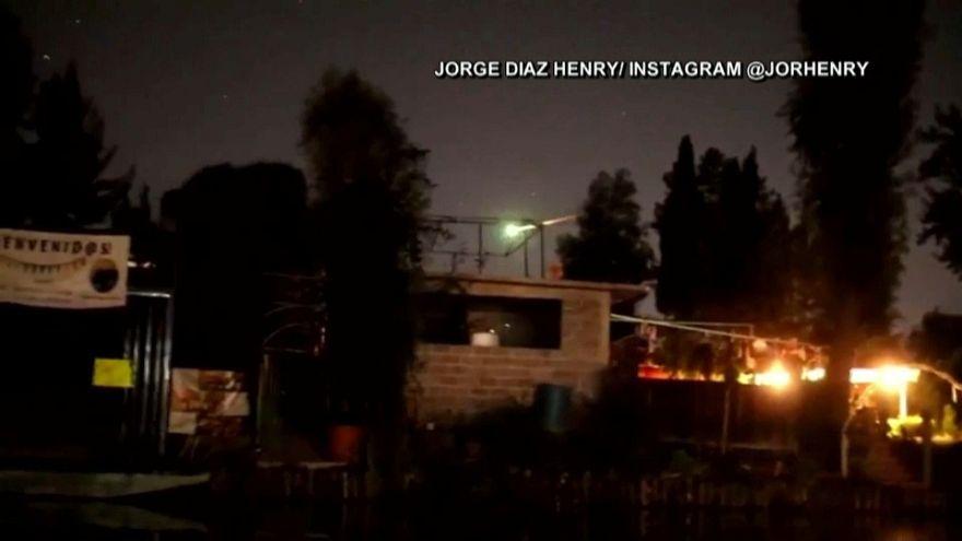 Un meteorito ilumina el cielo de México