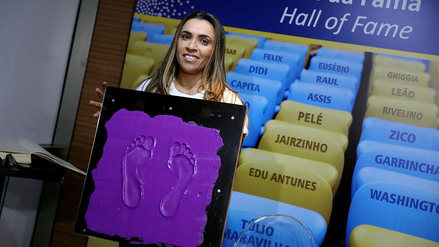 """Marta fait son entrée au """"Hall of Fame"""""""