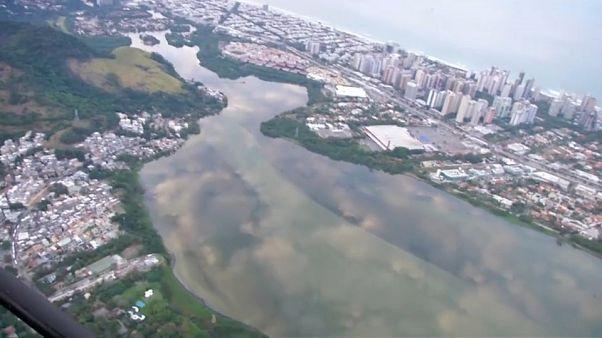 Крупный разлив нефти в Бразилии
