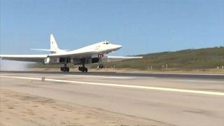 Llegan a Venezuela bombarderos rusos con capacidad nuclear, críticas de EEUU