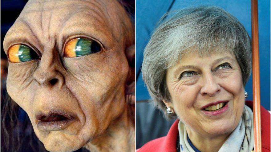 Video | Yüzüklerin Efendisi'ndeki Gollum karakteri Theresa May olursa!