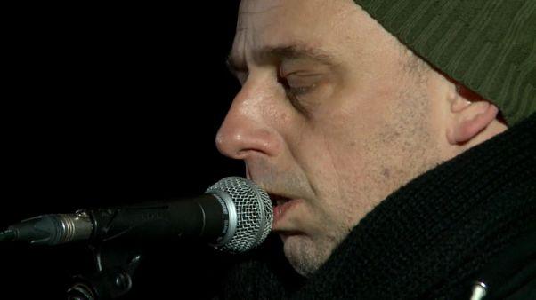 Budapest: serata di musica per i senzatetto