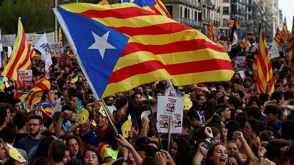 Madrid'den Barselona'ya: Sokak eylemlerini durdurun, ulusal polisi gönderirim