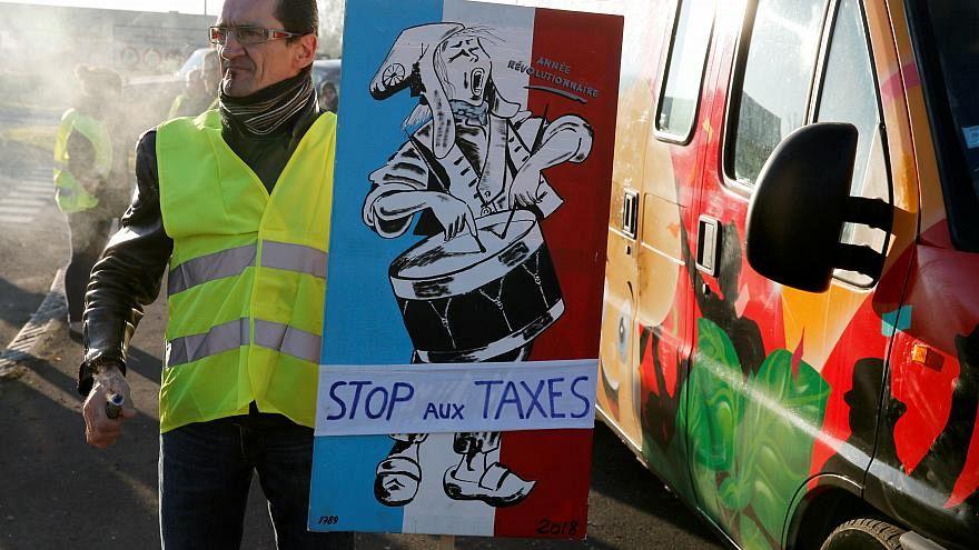 A francia trafipaxok fele vált használhatatlanná a sárgamellényes mozgalom kezdete óta