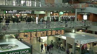 Amenaza de huelga de trenes en Navidad en España