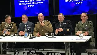 All-male panel at debate on improving gender equality in the military