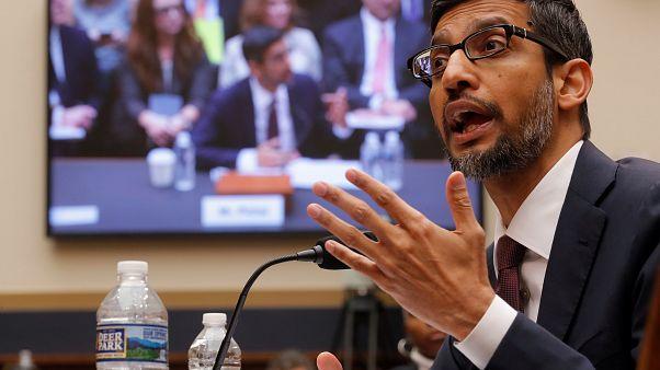 Google-Chef Sundar Pichai sagt vor US-Kongress aus