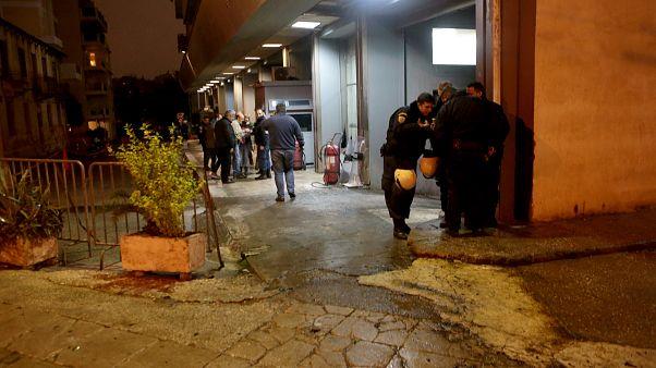 Επίθεση με μολότοφ στο κτίριο των ΜΑΤ στην Καισαριανή
