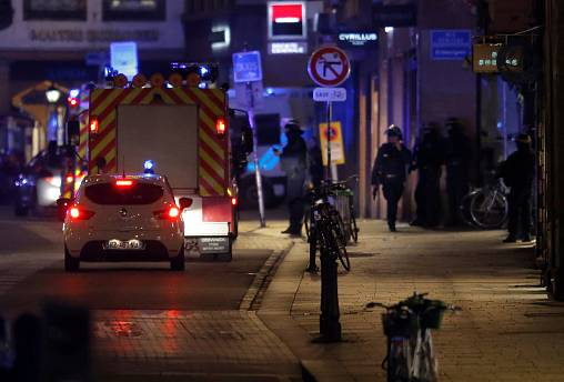 Strasbourg shooting: 'At least three dead', France's security threat level raised